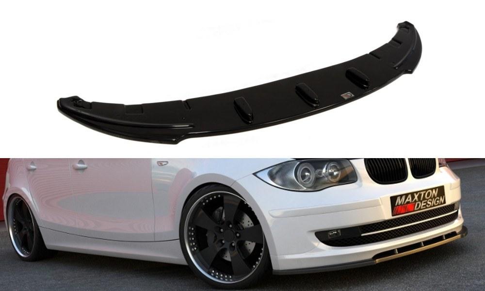 Splitter Przedni BMW 1 E81 / E87 (standard Polift Model) - GRUBYGARAGE - Sklep Tuningowy